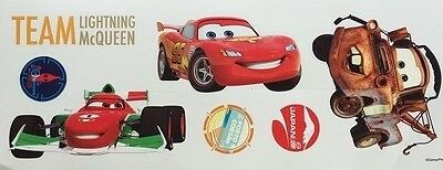 Disney CARS  Wall Stickers Lightning McQueen Mater Francesco Room Decor Stickers
