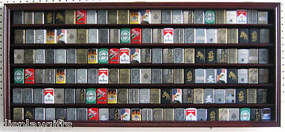 Large 132 Sport/Cigarette Lighter Display Case Cabinet Shadow Box: Lchw05B-MA