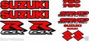 Red GSXR Decal