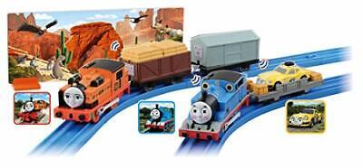 TAKARATOMY Plarail Thomas Thomas & Near Ace and GO! GO! Adventure Set
