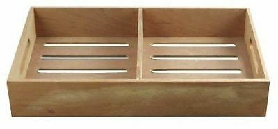 Spanish Cedar Cigar Tray With Divider Aromatic Tray