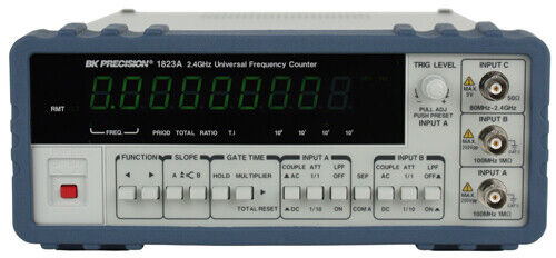 BK Precision 1823A 2.4 GHz Universal Frequency Counter w/ Ratio Function