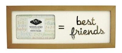 Sum It Up BEST FRIENDS PHOTO FRAME Retired Few Left Great Gift for BFFs