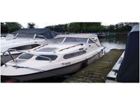 18ft Cruiser for sale at Leicester Marina - £2000