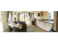 brand new 2017 static caravan for sale. sited on norfolk coast. nr Broads & Great Yarmouth