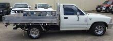 1996 Toyota Hilux RN85R White 5 Speed Manual Utility Bundamba Ipswich City Preview