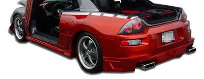 KBD Body Kits Blits Style Polyurethane Rear Bumper Fits Mitsubishi Eclipse 00-05 05 Mitsubishi Eclipse Polyurethane