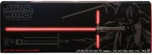 Star Wars Kylo Ren Black FX Lightsaber - Sealed - Can Post Beachmere Caboolture Area Preview