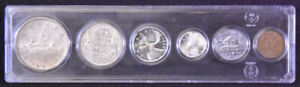 1953 Canadian coin set