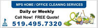 Home Cleaning, Office Cleaning, Floor Care 519-495-7320