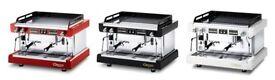 Espresso Coffee Machine LED SAE 2 Grp RED - Astoria Pratic Auto Raised Group