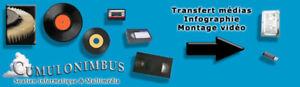 Transfert Médias, Montage Vidéo, Infographie, Concept Audio