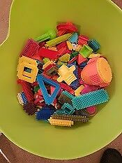Big bucket of stickle bricks ... Bucket not included