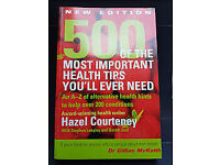 Book: 500 of the most important health tips you'll ever need: Dr Gillian McKeith