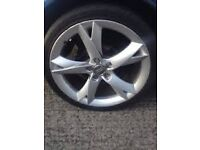 """18"""" 5x112 audi A5 alloys for sale or swap for 19"""" rs6 rs4 ttrs directionals ^ read ad ^"""