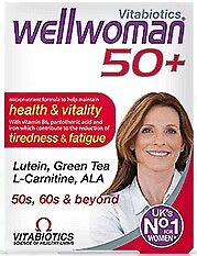Wellwoman 50 Intelligent nutrition for women over 50