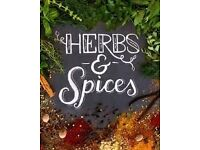 HERBS SPICES SEASONINGS