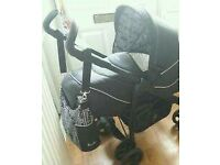 Silver Cross Pram and Carry Cot
