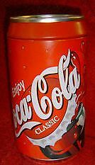 Coca Cola Tin Bank