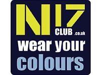 Genuine Tottenham Hotspur Merchandise visit N17CLUB