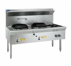 Waterless Wok Luus WL-2C2B  2Chimney,2Open Burners Catering Equip Campbellfield Hume Area Preview