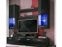 Wall TV unit set
