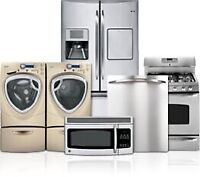 CHEAP APPLIANCE REPAIR! Licensed & Insured.  Call 416-400-3099!