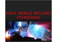 Mobile welder / welding
