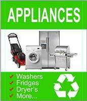 100% FREE Pickup Of All Appliances, Tv/Electronics, Scrap Metal!