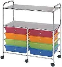 8-Drawer Storage Trolley / NEW in the packaging