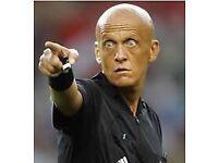 Emergency football referee