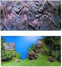 aquarium hintergrund dekorationen ebay. Black Bedroom Furniture Sets. Home Design Ideas