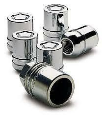 wheel locking nuts chrome