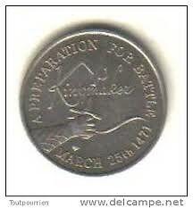 Warwick castle coin