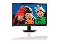 "Phillips 24"" LCD Monitor 243V5L Brand New in box"