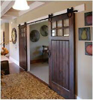 Beautiful Custom Barndoors