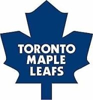 Leafs vs Canadiens Oct 7 Lower Bowl Gold Tickets