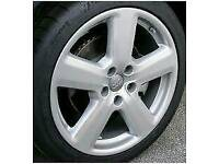 "5 x Audi S6 18"" allow wheels fit lots of Makes £200"