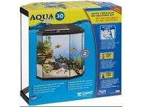 Fish tank and stand! Complete aquarium tropical set up