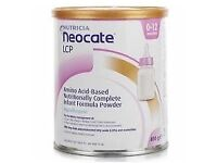 Neocate Milk for Babies x 5