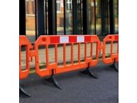Barriers & Fencing Purchased For Cash - Safety, Road, Work, Site