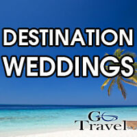 Destination Weddings - Brides goes FREE!*