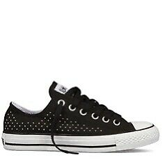 Black ChuckTaylor Converse for Semi or Prom Dress