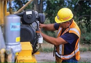 Mechanical Service for Compact Equipment