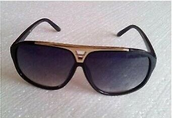 3703ca962b4 ... Eyeglasses Source · Louis Vuitton sunglasses black gold frames in  Thetford Norfolk