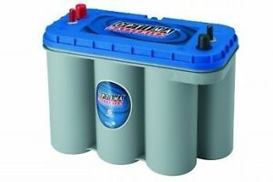 New-Optima-Blue-Top-Deep-Cycle-Marine-Battery-D31M-8052-161-SC31DM-Boat-Stereo