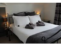 King Ensuite Room with Lounge and Mini Kitchen - Serviced Apartment