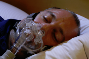 Respcare Hybrid full face CPAP mask. Ideal if claustrophobic Currumbin Gold Coast South Preview