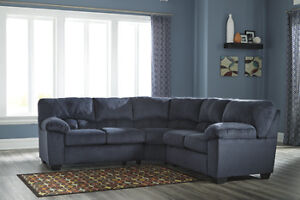 NEW 2 PIECE SECTIONAL $110/MONTH