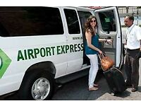 Cheap Airport shuttle and driver hire service